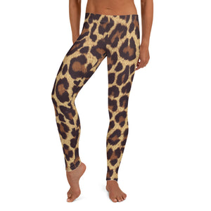 Leopard Animal Print leggings, Capris and Shorts