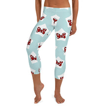Load image into Gallery viewer, Minnie Bows leggings, Capris and Shorts