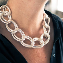 Load image into Gallery viewer, Emma Double Link Statement Necklace