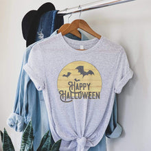 Load image into Gallery viewer, Happy Halloween Graphic T-Shirt