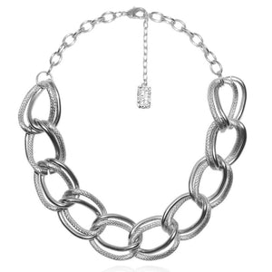 Emma Double Link Statement Necklace