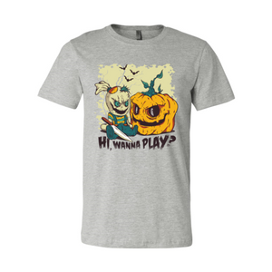 Hi Wanna Play T-shirt