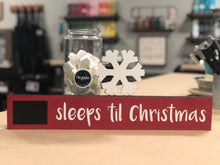 Mini Countdown to Christmas