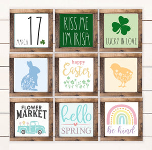 Fun Size Spring Signs