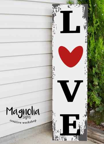 Small Valentine Porch Sign
