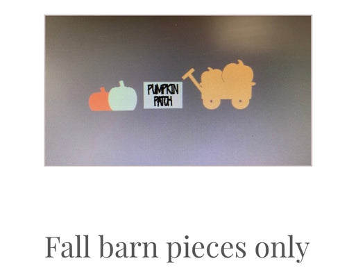 Extra pieces for barn leaner- PRE-ORDER