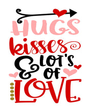 Hugs Kisses and Lots of Love