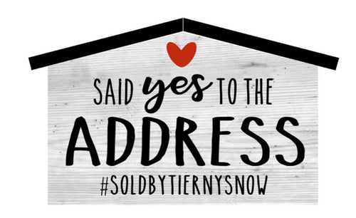 Yes to the Address
