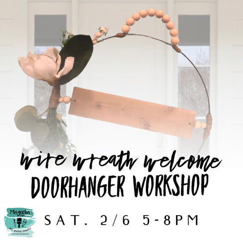 Modern Wire Wreath Workshop