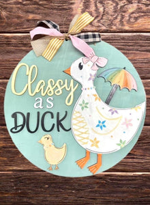 Duck Doorhanger