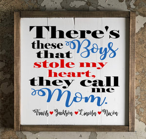 There's these boys- personalized