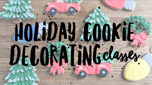 SOLD OUT!! Holiday Cookie Decorating Workshops