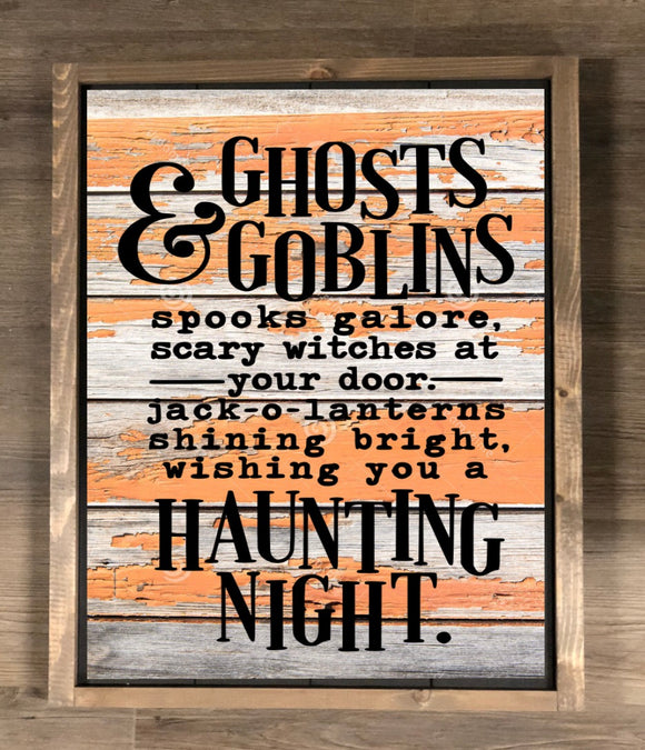 Ghosts and Goblins