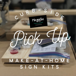 Make at Home Sign Kits