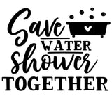 Save Water Shower Together