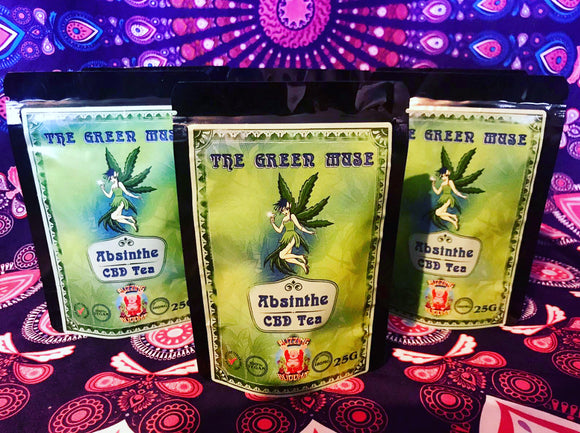 Absinthe CBD Tea - The Green Muse