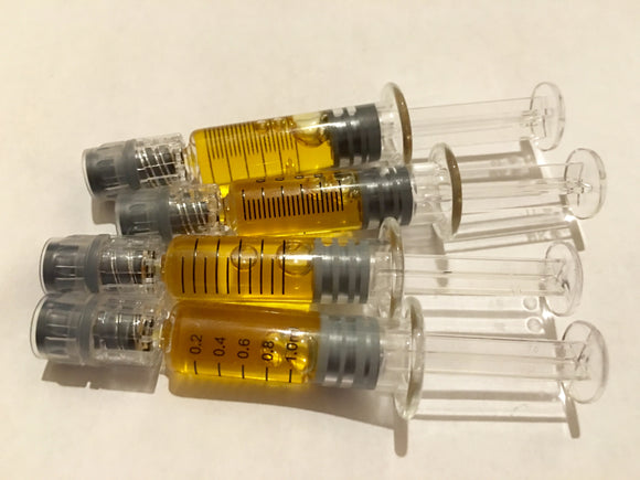Royal Distillate 90% Cannabinoids 1ml - Wide Full Spectrum **Non Crystallising**