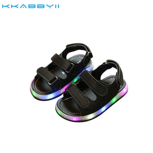 Chaussure Led Light Shoes Children Sandals Boys Girls Fashion Lighted Sandals Kids Baby Luminous Shoes - WORLD-TECHNOLOGIE