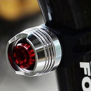 LED lumière Velo Bike Cycling Red Flash Lights - WORLD-TECHNOLOGIE