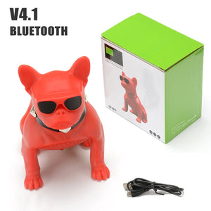 DOGSONG Bluetooth Boombox Mini Portable bulldog Speaker Stereo Deep Bass Sound Subwoofer For Phone PC Column - WORLD-TECHNOLOGIE