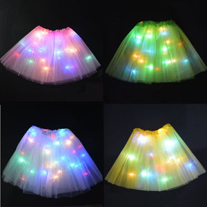 TUTU LUMINEUX POUR DÉGUISEMENT ENFANT, ADULTE /  TUTU LIGHT FOR CHILDREN, ADULT DISGUISE