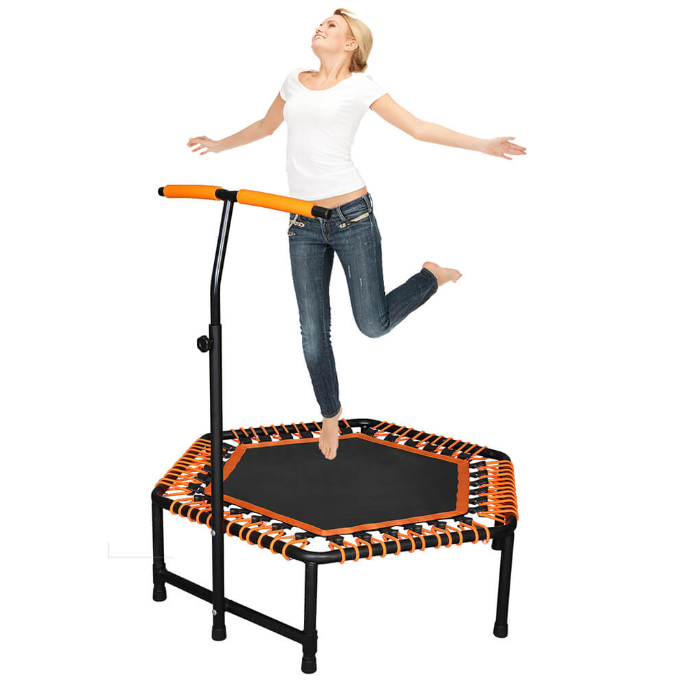 42 x 50 inch Jumping Trampoline with T-Shaped Handle bar