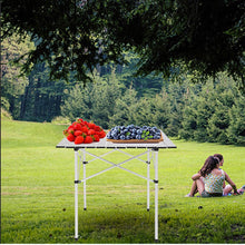Load image into Gallery viewer, Folding Aluminum Picnic Table