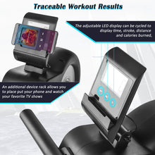 Load image into Gallery viewer, Magnetic Rowing Machine with  8-level Resistance Adjustment
