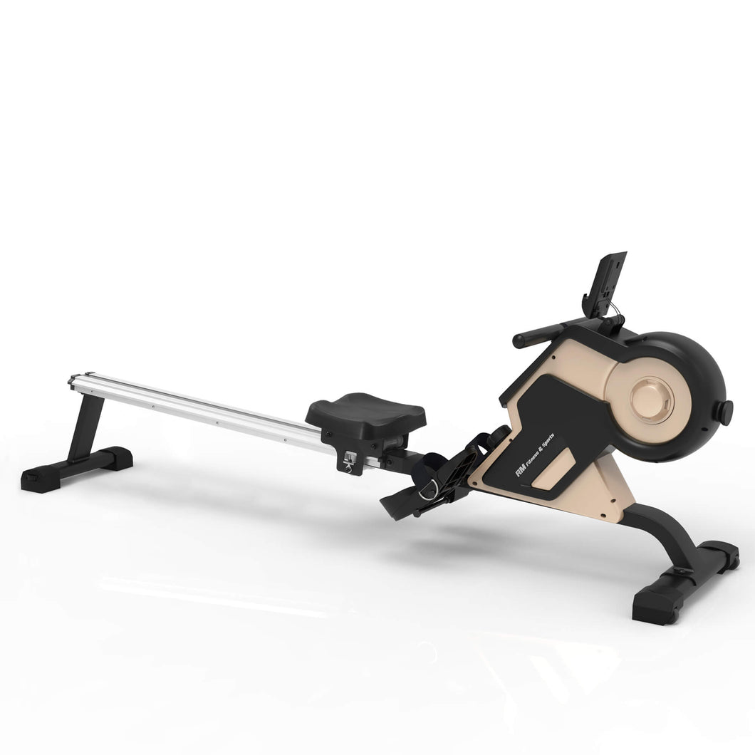 Magnetic Rowing Machine with  8-level Resistance Adjustment
