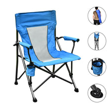 Load image into Gallery viewer, Folding Chair, Outdoor Folds chair for camping, Fishing