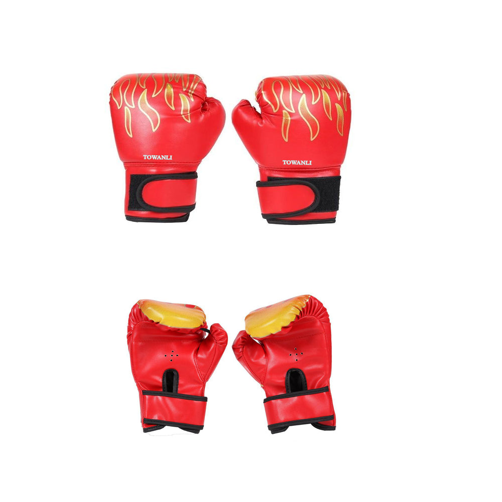 Kids Training Boxing Gloves - Suit for Age 5 to 12