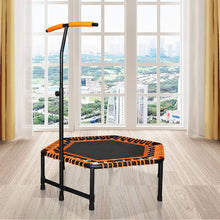 Load image into Gallery viewer, 42 x 50 inch Jumping Trampoline with T-Shaped Handle bar