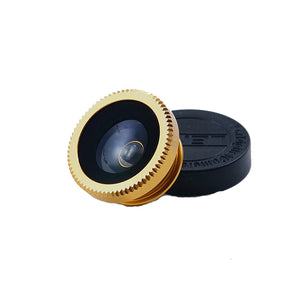 Fisheye Lens Fish Eye + Wide Angle + Macro 3 in 1 Mobile Phone Lens For iPhone