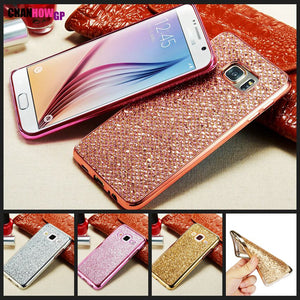 Glitter Silicon Case For Samsung