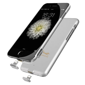 Portable External Power Bank Battery Charger Case For iphone 6 6S 7