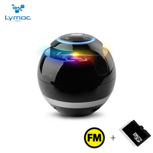 Lymoc Portable Bluetooth Speaker LED MINI Bluetooth Speaker