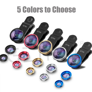 Universal Wide Angle Zoom Macro Lenses Mobile Phone Lens Fisheye For iPhone