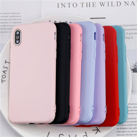 Fashion Simple Phone Case For iphone X