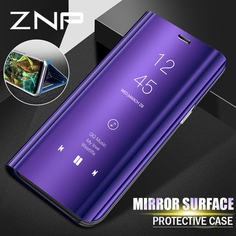 ZNP Smart View Case For Samsung Galaxy ]