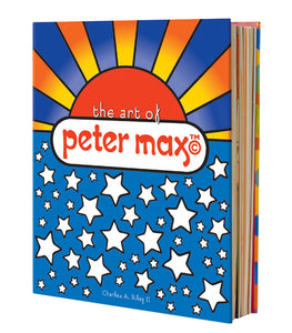'The Art of Peter Max' Hardcover Coffee Table Book