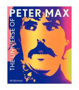 'The Universe of Peter Max' Hardcover Book