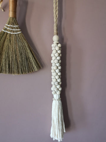 Boho shell decor