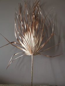 Copper palm leaf large
