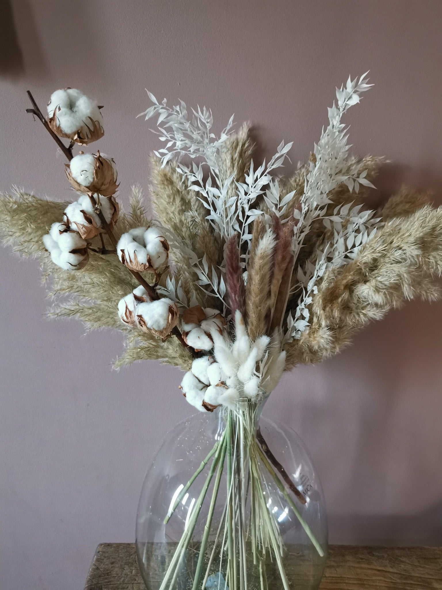 Pampas grass bouquet
