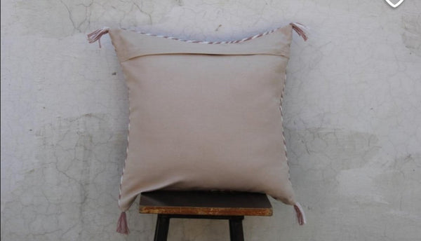 Moroccan style cotton cushion cover - Pavot blue Interiors