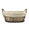Linen-Lined Bread Basket