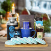 Coffee & Hanukkah Cookies Gift Basket, Hanukkah gift baskets, gourmet gift baskets