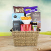 All Kosher Snacking Gift Basket, kosher gift baskets, gourmet gift baskets, gift baskets, Jewish holiday gift baskets, Purim gift baskets, Shabbat gift baskets, Passover gift baskets