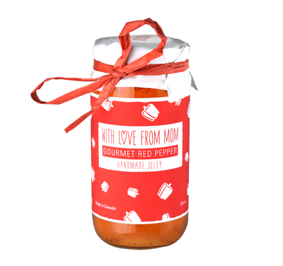 With Love From Mom Gourmet Red Pepper Jelly