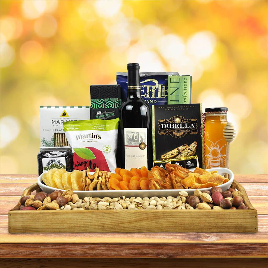 Kosher Ample Wine Gift Basket